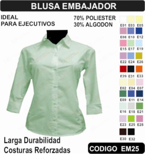 cfaa17c042c Blusa Para Uniforme - Uniformes Empresariales