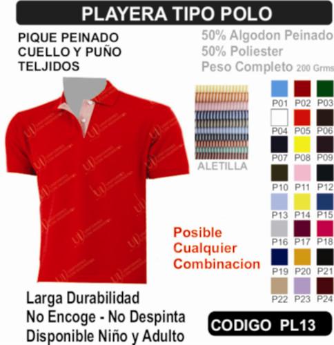 034d70af01865 Playera Tipo Polo - Playeras para Uniforme